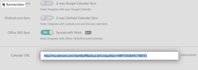 How To Sync Your Calendar with Setmore - LexReception